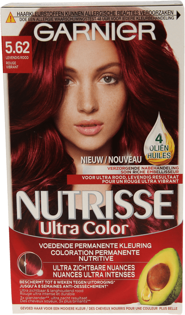 6a52429f95c Garnier Nutrisse Ultra Color 5.62 Levendig Rood - Care by D.I.O